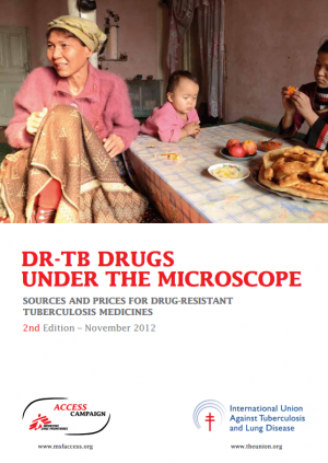 DR-TB drugs under the microscope